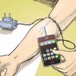 اعتیاد به تلفن همراه!!!!!